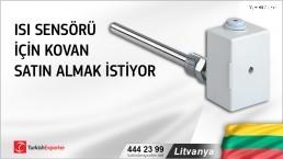 Lİtvanya, Isı sensörü için kovan satın almak istiyor