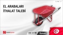 Tunus, El arabaları ithalat talebi