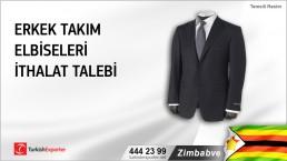 Zimbabve, Erkek takım elbiseleri ithalat talebi
