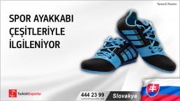 Slovakya, Spor ayakkabı çeşitleriyle ilgileniyor