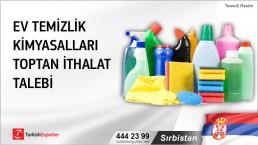 Sırbistan, Ev temizlik kimyasalları toptan ithalat talebi