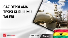 Gana, Gaz depolama tesisi kurulumu talebi