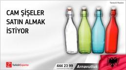 Arnavutluk, Cam şişeler satın almak istiyor