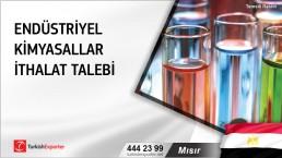 Mısır, Endüstriyel kimyasallar ithalat talebi