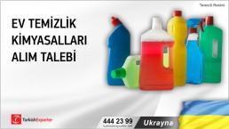 Ukrayna, Ev temizlik kimyasalları alım talebi