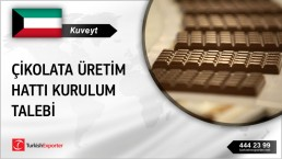 Kuveyt, Çikolata üretim hattı kurulum talebi