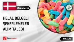 Danimarka, Helal belgeli şekerlemeler alım talebi