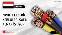 Yemen, Zırhlı elektrik kabloları satın almak istiyor