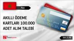 Fas, Akıllı ödeme kartları 100.000 ad alım talebi