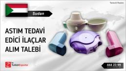 Sudan, Astım tedavi edici ilaçlar alım talebi