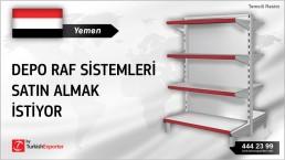 Yemen, Depo raf sistemleri satın almak istiyor