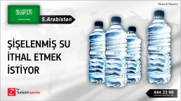 SAUDI ARABIA REQUESTED FOR QUOTATION FOR BOTTLED WATER