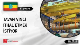 OVERHEAD TRAVELING CRANES PURCHASE REQUEST FROM ETHIOPIA