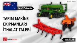 AGRICULTURAL EQUIPMENTS IMPORT INQUIRY FROM NEW ZEALAND