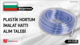 BULGARIA – IMPORTING PLASTIC HOSE EXTRUDER MACHINE
