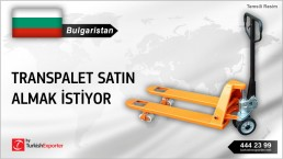 INTERESTED TO BUY HAND PALLET TRUCKS INQUIRY FROM BULGARIA