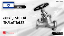 ISRAELI COMPANY WANT TO IMPORT VALVES