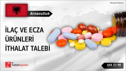 PHARMACEUTICALS TO IMPORT TO ALBANIA