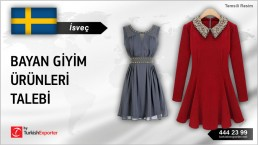 WOMEN CLOTHES IMPORT TO SWEDEN