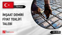 TURKEY BASED COMPANY PURCHASING RFQ FOR REBARS