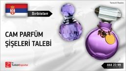 GLASS BOTTLES FOR PERFUMES REQUIRED IN SERBIA