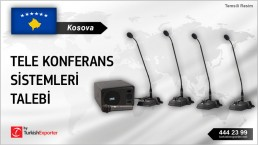 AUDIO CONFERENCE SYSTEMS REQUIRED IN KOSOVO