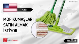 MOP CLOTHS REQUIRED FOR USA DISTRIBUTION