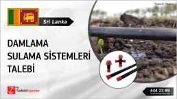 IRRIGATION DRIP SYSTEM REQUEST FROM SRI LANKA
