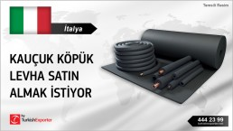 RUBBER FOAM IN ROLL IMPORT REQUEST FROM ITALY