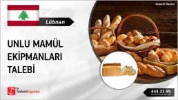 BAKERY TROLLEYS, TOAST BREAD EQUIPMENT  NEEDED IN LEBANON