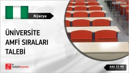 LECTURE HALL SEATS AND DESK REQUEST FOR NIGERIA