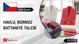 TOWEL, BATHROBE, BLANKETS BUY INQUIRY FROM CZECH REPUBLIC