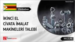 ORDER OF BOLT MAKING MACHINE FOR ZIMBABWE