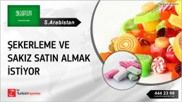 CANDY AND BUBBLE GUMS TO IMPORT TO SAUDI ARABIA