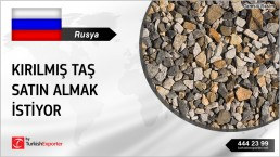 CRUSHED STONE PURCHASE REQUEST FROM RUSSIA