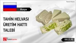 TAHINI HALWA PRODUCTION LINE INQUIRY FROM RUSSIA