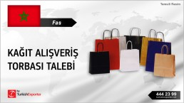 KRAFT PAPER SHOPPING BAGS PURCHASING RFQ FROM MOROCCO