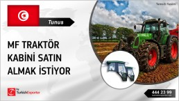 TRACTOR CABS FOR MF TRACTORS IMPORT TO TUNISIA
