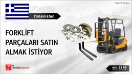 FORKLIFT PARTS REQUESTED FOR GREECE MARKET