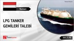 YEMENI COMPANY LOOKING FOR USED LPG VESSELS