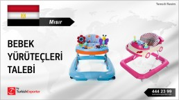 BABY WALKERS IMPORT INQUIRY FROM EGYPT
