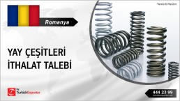 ROMANIAN COMPANY LOOKING FOR SPRINGS MANUFACTURERS