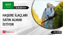 PESTICIDES WHOLESALE IMPORT INQUIRY FROM SAUDI ARABIA