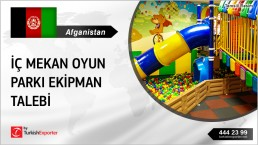 INDOOR PLAYGROUND EQUIPMENTS REQUIRED IN AFGHANISTAN