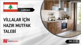 RESIDENTIAL KITCHENS TO PROVIDE TO A PROJECT IN LEBANON