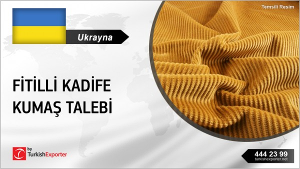UKRAINIAN COMPANY INTERESTED IN COTTON CORDUROY FABRICS