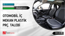 AUTOMOBILE INTERIOR PLASTIC PARTS IMPORT INQUIRY FROM UZBEKISTAN