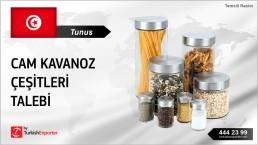 GLASS KITCHEN JARS IMPORT TO TUNISIA