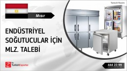 COMPONENTS OF COMMERCIAL REFRIGERATORS REQUEST FROM EGYPT