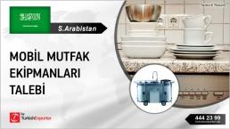 KITCHEN EQUIPMENTS FOR FOOD CARAVANS REQUIRED IN SAUDI ARABIA